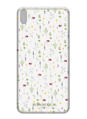 Funda movil flores silvestres