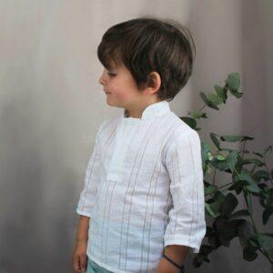 Camisa niño Saint-Tropez