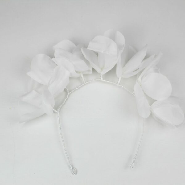 Diadema flores de seda