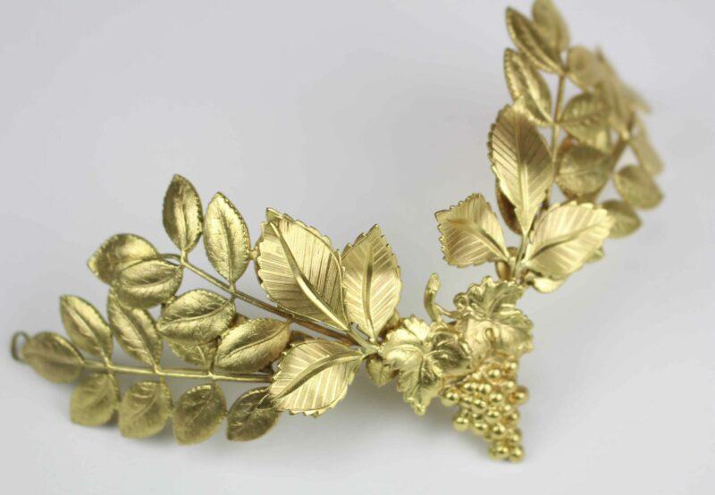 hojas doradas pequeñas