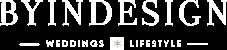 logo blanco byindesign